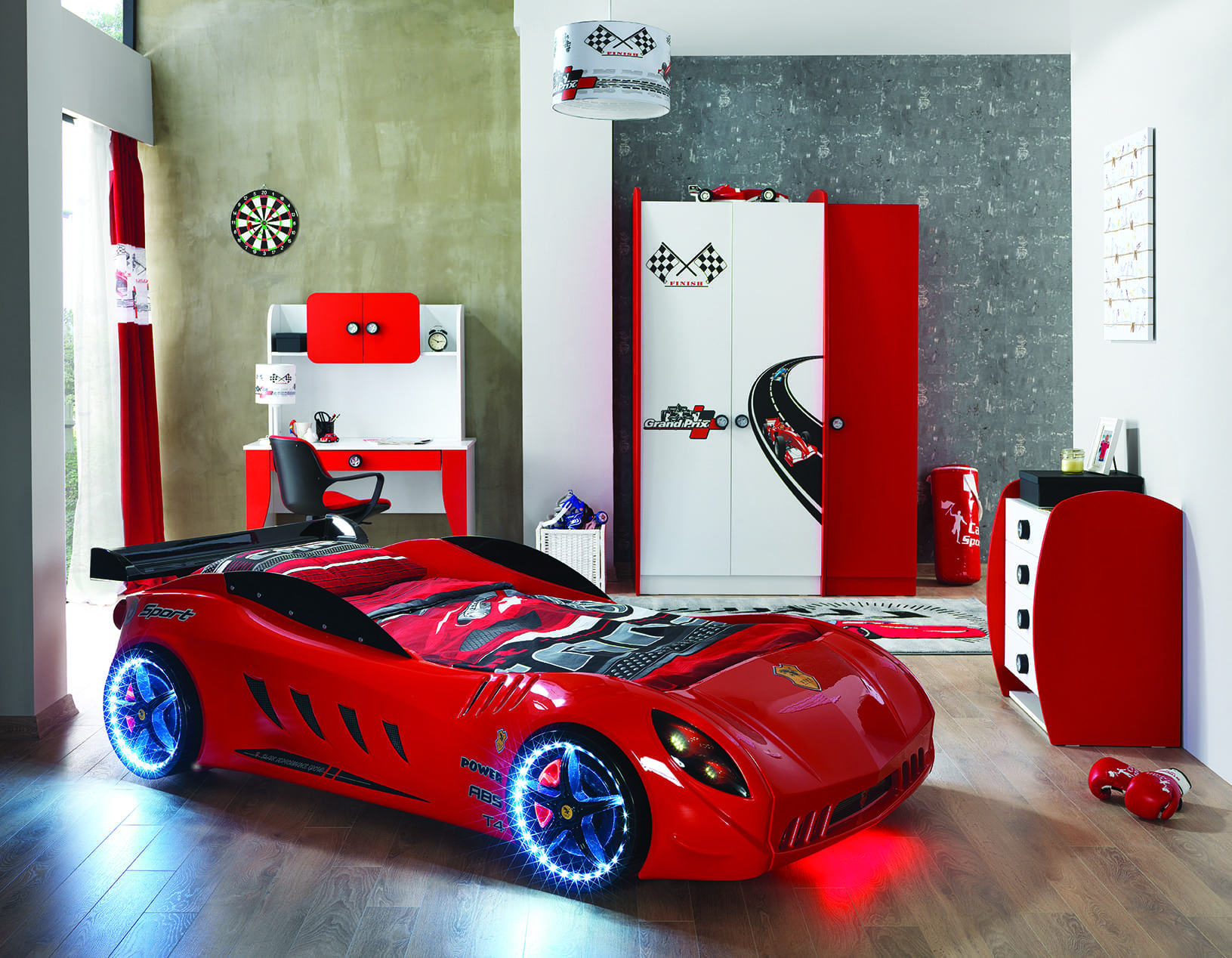 F12 Race Car Bed Red Car Bed Shop Kids Bed Shop