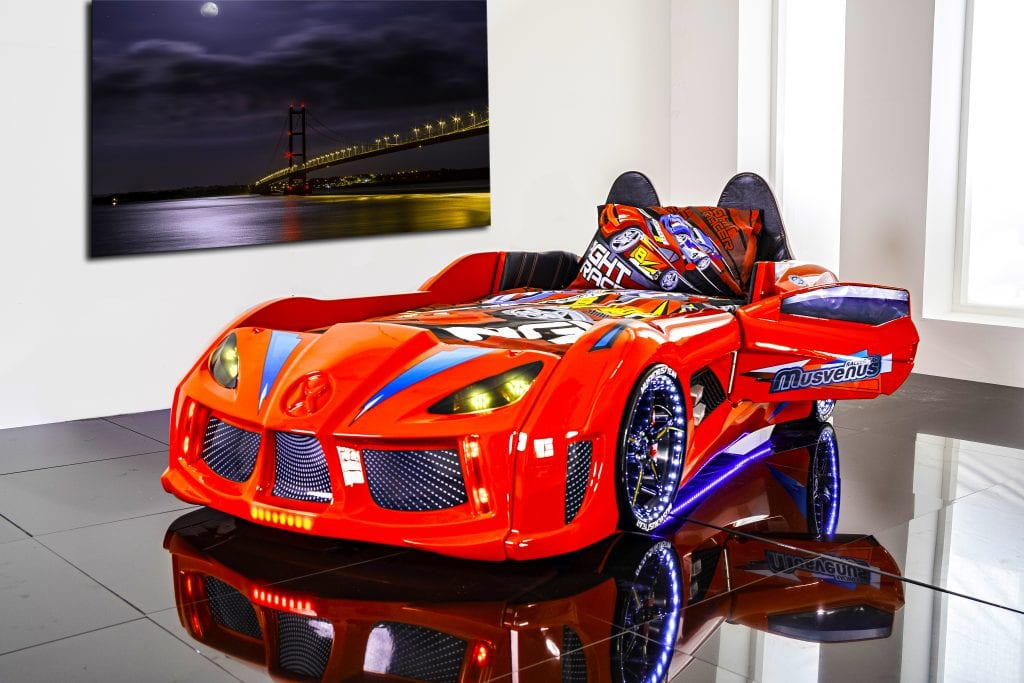 Car Bedding: GT TURBO Race Car Bed Red - Car Bed Shop