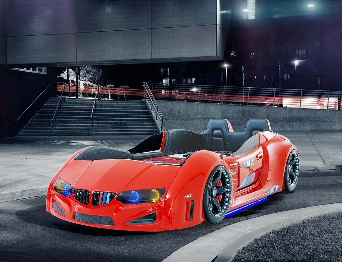 BMW - M Sport Racing Car Bed Red - Car Bed Shop | Kids Bed Shop