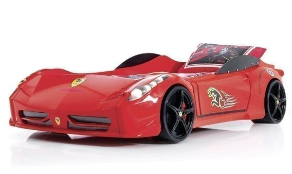 Ferrari 458 Race Car Bed - Red