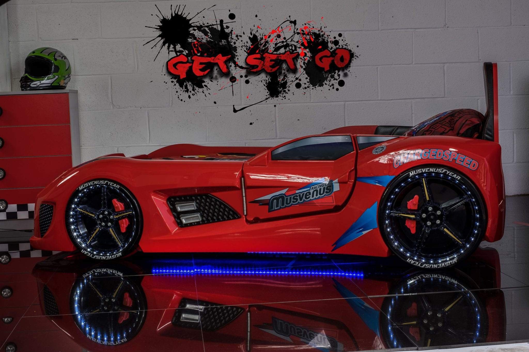 Gt Turbo Race Car Bed Red Car Bed Shop Kids Bed Shop