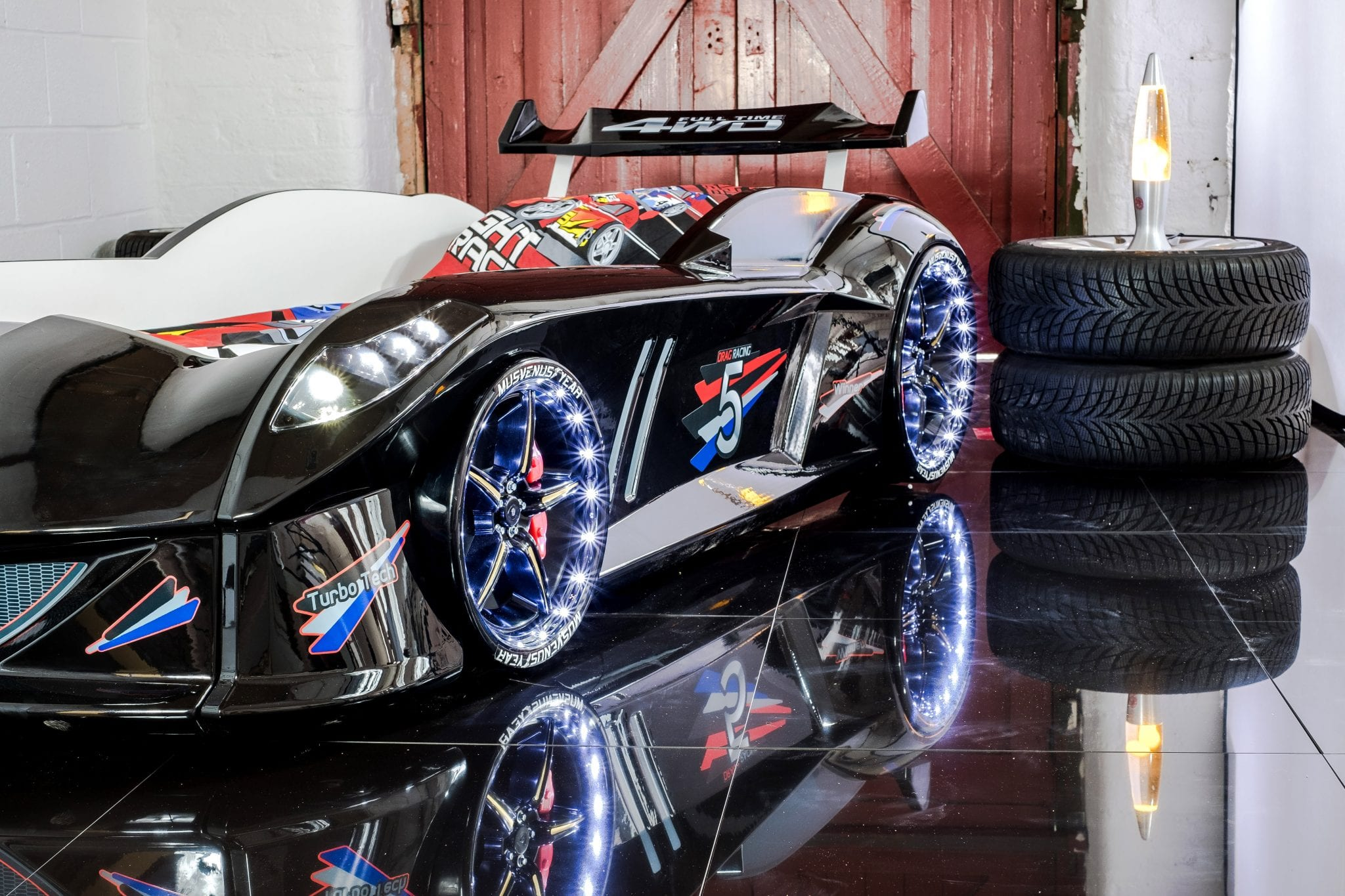 lightbox majestic racing bed kids for blue racer nwm product car supercar mrx furnishings beds