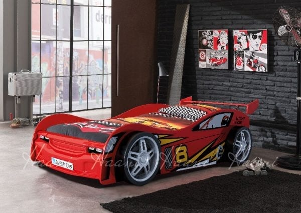 Flash Racing Car Bed Red