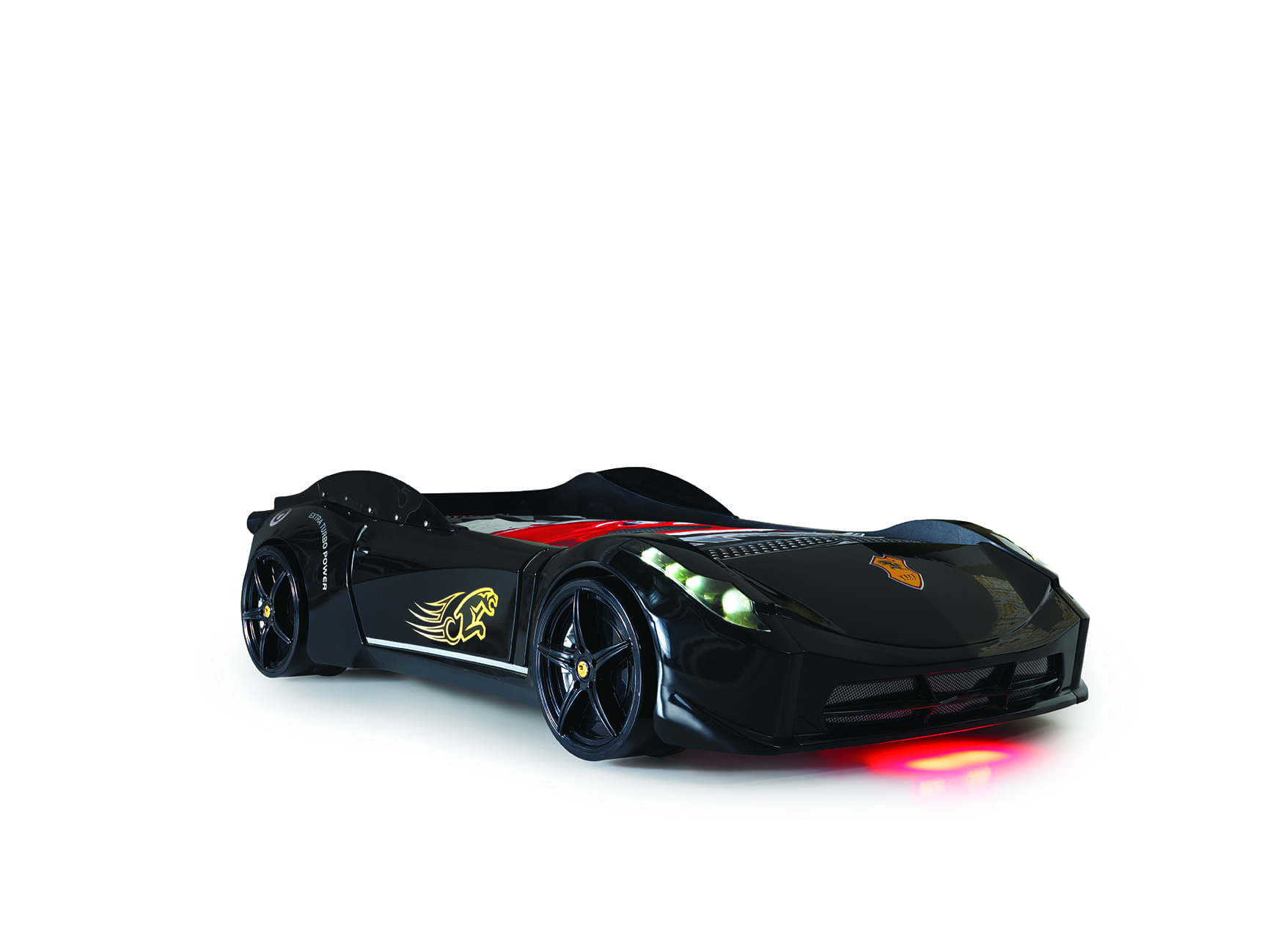 Ferrari 458 Race Car Bed - Black