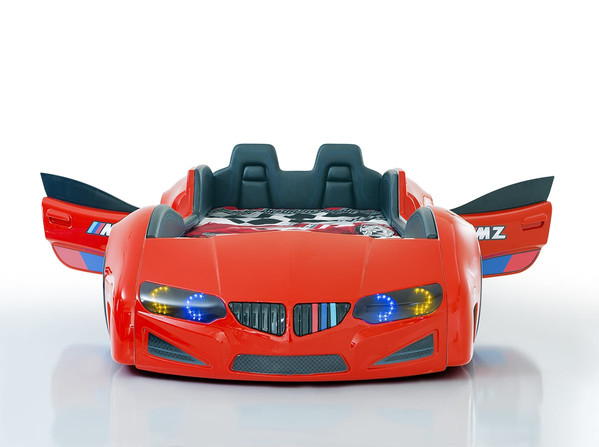 beds turbo blue racer product shop racing bed kids home race car